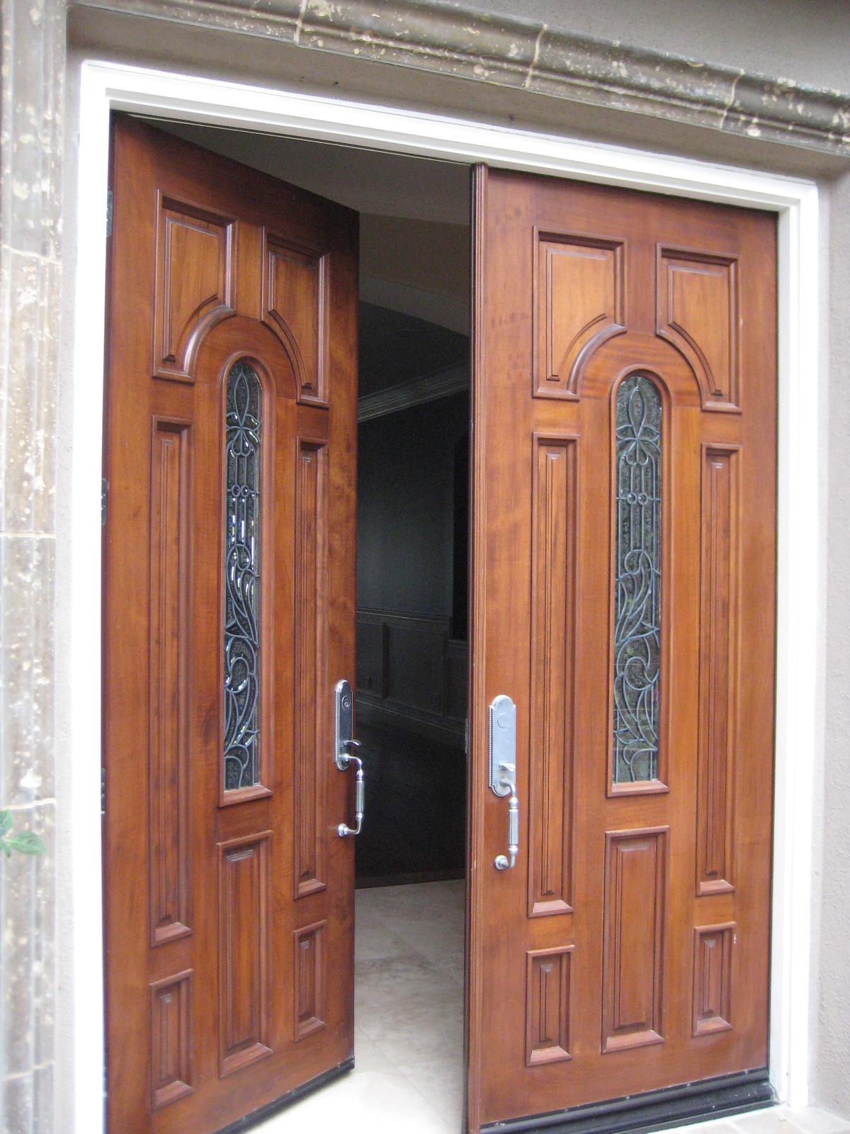 Fiberglass Aluminum Wood Vinyl Glass Entry Doors