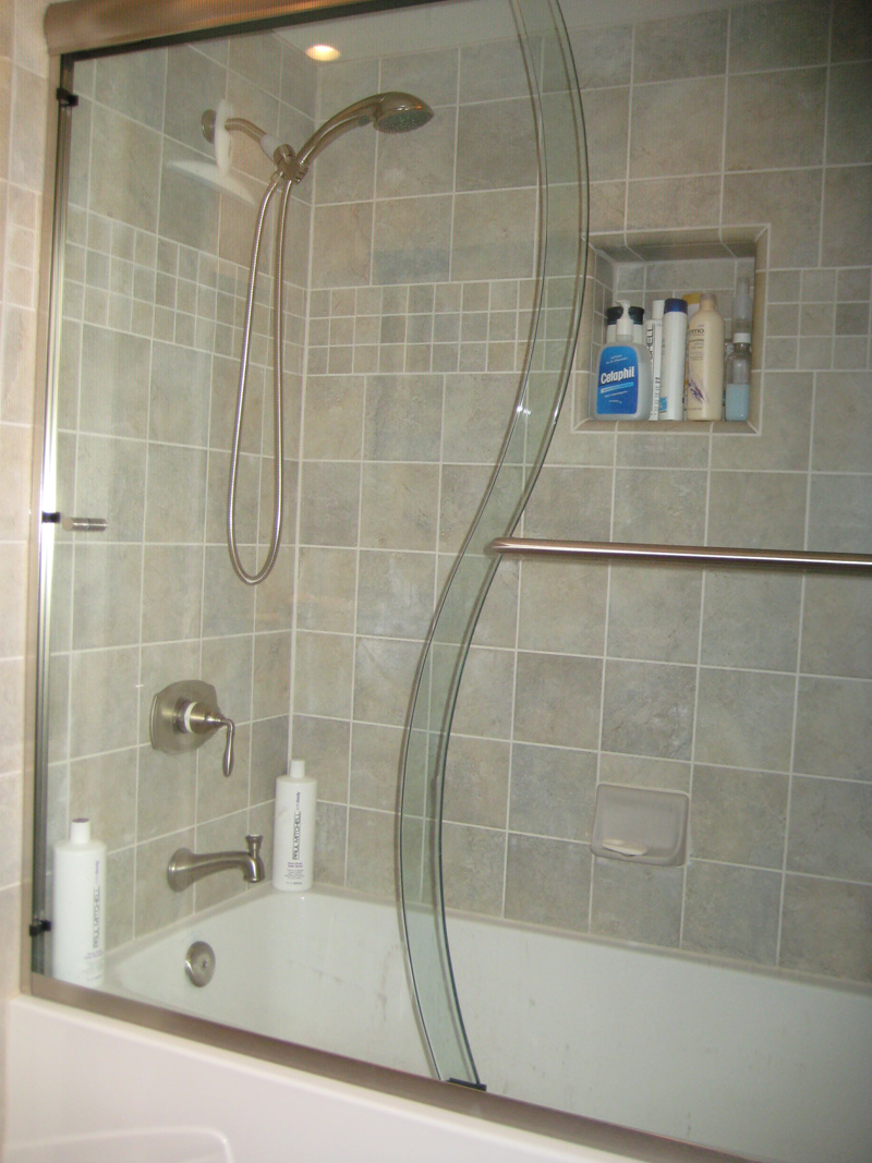 Frameless Shower Tub Enclosures Ultra Glass Clear Glass Tempered
