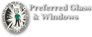 Preferred Glass & Windows Logo
