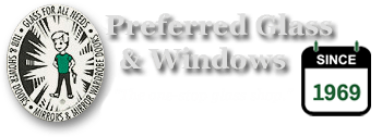 Logo Preferred Glass & Windows